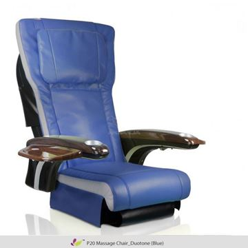 blue & ivory ANS P20 massage chair