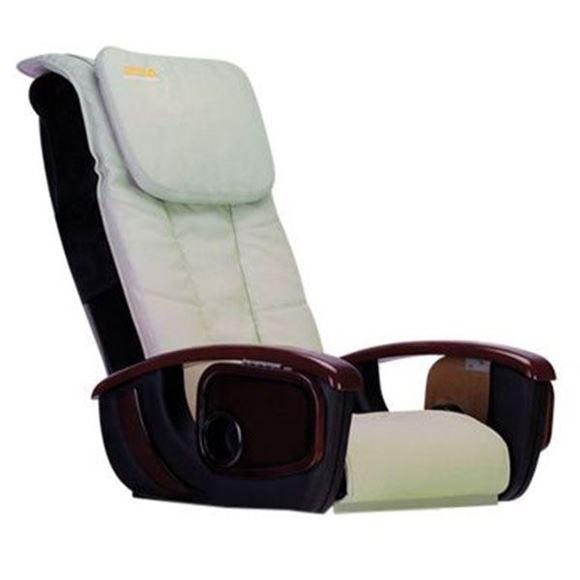 pale green LC Deco R1 pedicure massage chair