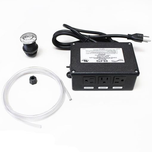 Gulfstream GS4000T control box with built-in timer, free air hose and button