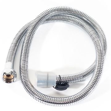 "chrome finished 36"" Gulfstream GS1108 flex spray hose"