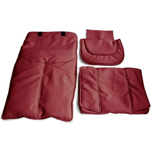 burgundy Gulfstream GS2510 – 9640 chair cover set