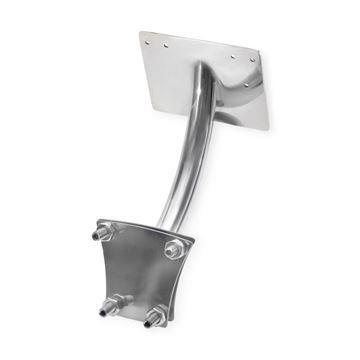stainless steel Gulfstream GS2003 footrest bracket