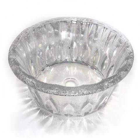 crystal clear Gulfstream GS5008 Queen bowl