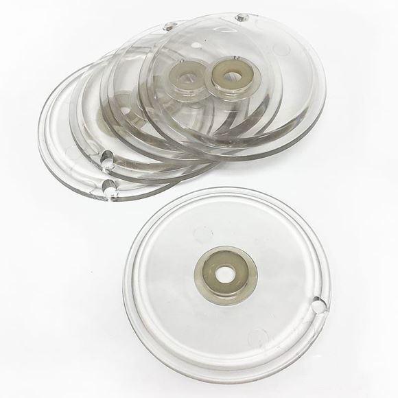 set of five Gulfstream GS3120 clear insert For Clean Jet Max heavy base