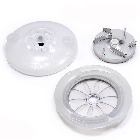 back plate, cover and impeller for GS7082-C IDjet