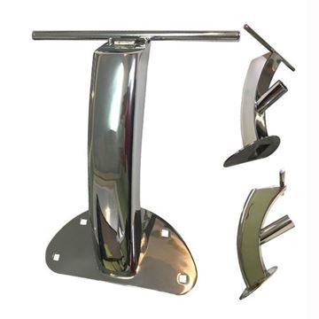 stainless steel steel frame footrest for Cloud 9 pedicure chair