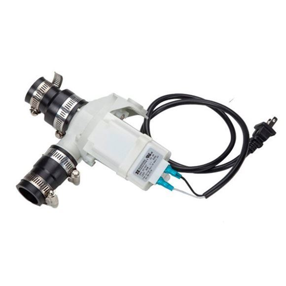 Hanning discharge pump for pedicure spa chair
