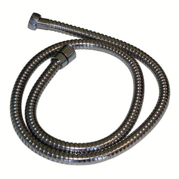 48 inch chrome finished spray hose
