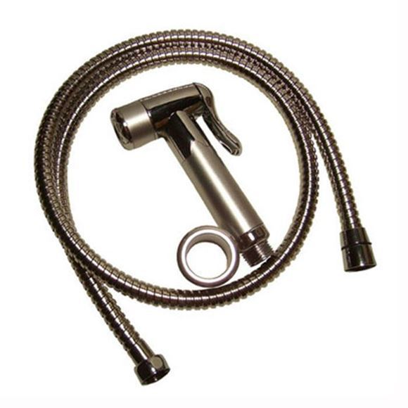 PSA chrome finished 48 inch flexible hose with 1-function spray head