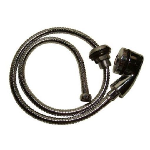 Pedispa Of America chrome spray head and 48 inch spray hose