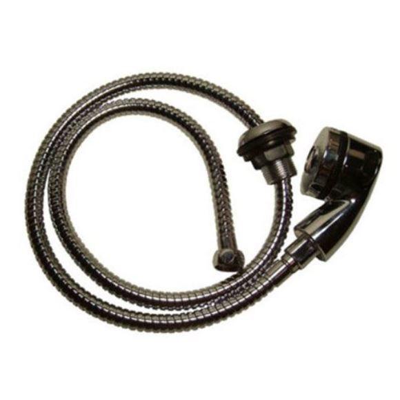 Pedispa Of America chrome spray head and 48 inch spray hose