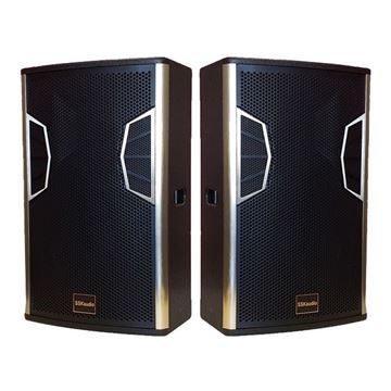 1 pair of LSX-12 karaoke speakers, 12 inch woofer in black color