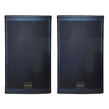Pair of LS-12 3000 watt karaoke speaker, 12 inch woofer in black color