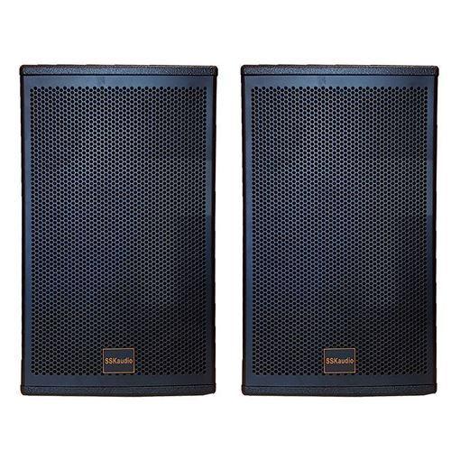 Pair of LS-12 3000 watt karaoke speaker, 12 inch woofer in black color