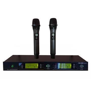 SSKaudio multi-channel frequency wireless microphone, black color