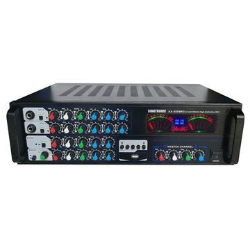 Singtronic KA-550MKII Professional 1000 Watt Mixing Amplifier (Front)