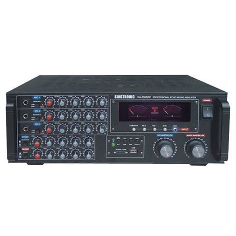 Singtronic KA-550DSP 1000 Watt Digital Mixing Amplifier (Front View)