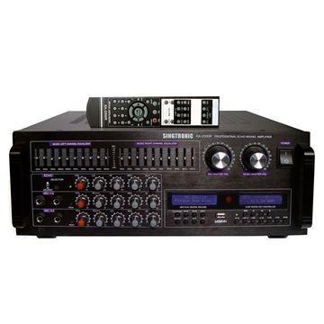 Singtronic KA-2000R 2000 Watt Digital Mixing Amplifier (Front View)
