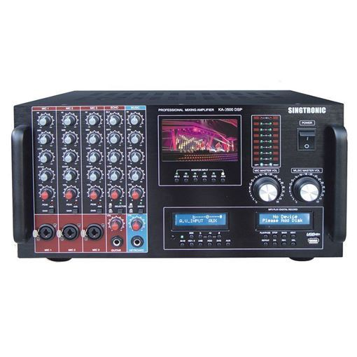 Front View Of Singtronic KA-3500DPS Digital Console Mixing Amplifier