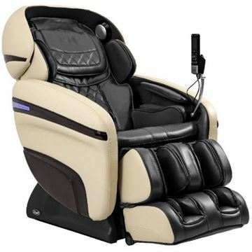 Osaki OS-3D Pro Dreamer Massage Chair Black & Cream Color