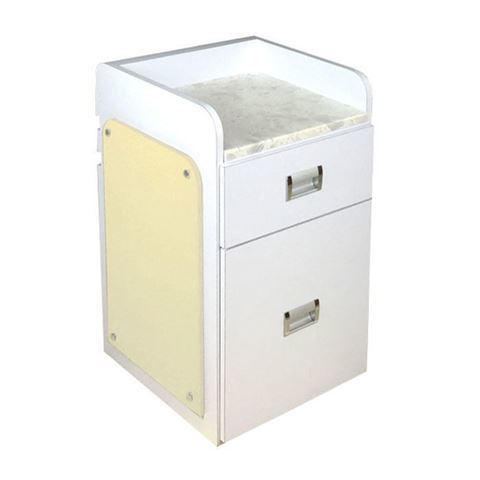 D39 pedicure cart white / beige