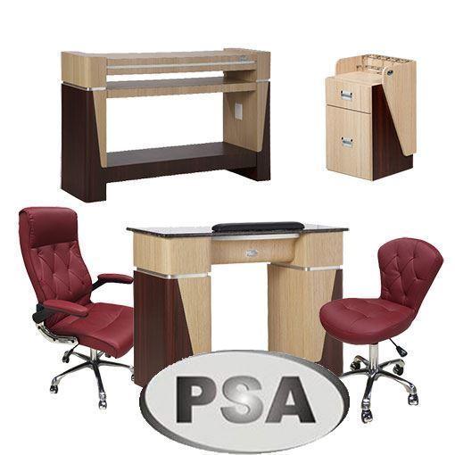 Pedispa Of America salon furniture collection