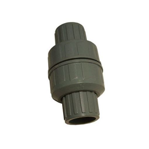 PSA grey pvc check valve