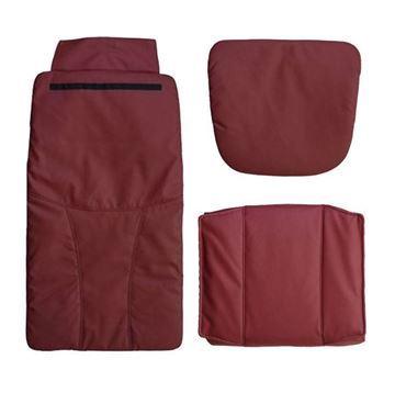 Pedispa Of America burgundy 777 cushion set