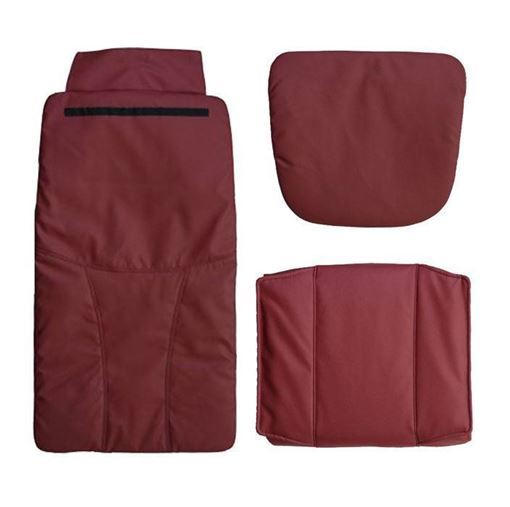 Pedispa Of America burgundy 777 cushion set