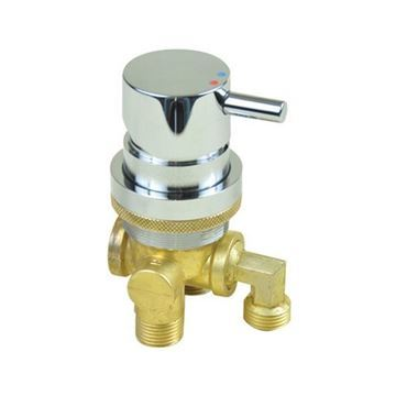 AYC 3-way brass faucet for pedicure spa