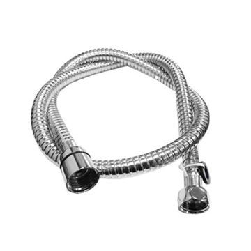 AYC flexible spray hose with chrome finish