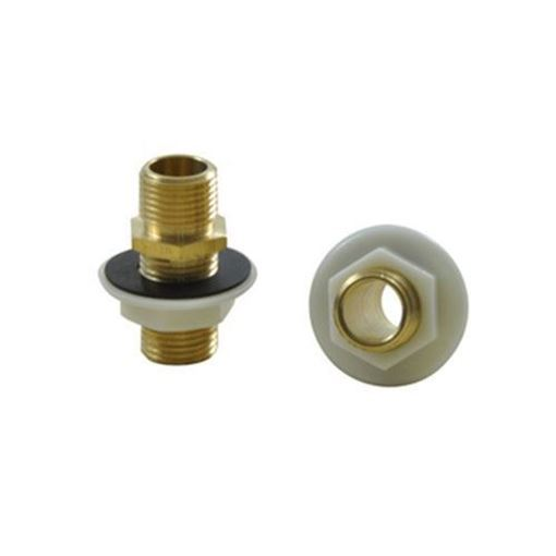 "AYC 1/2"" brass niple for pedicure spas"
