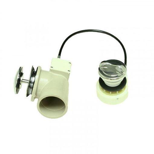 Lexor sani-drain overflow kit for pedicure spa