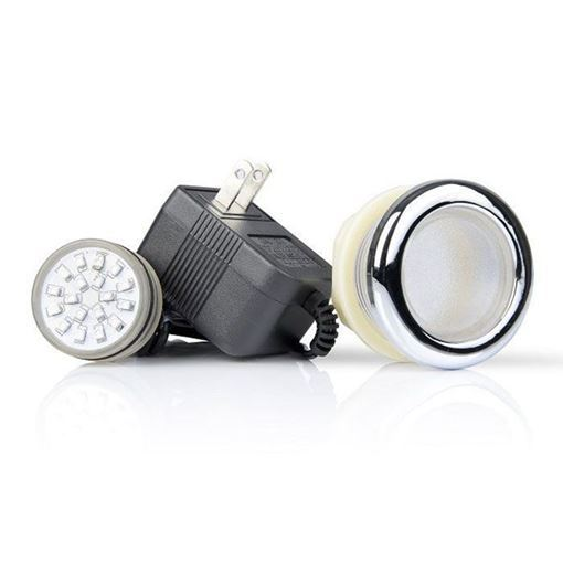 ANS LED light set includes front housing, LED bulb and power supply