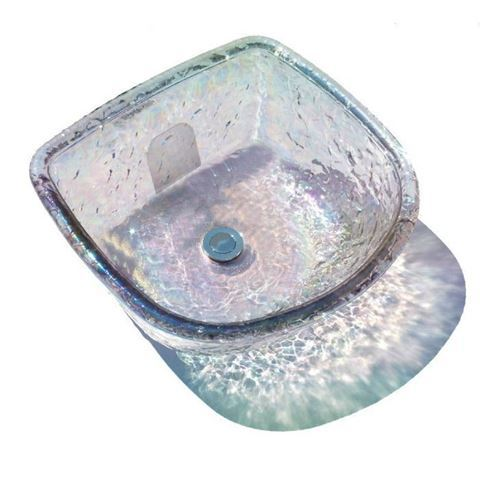 ANS Round Glass Bowl Crystal