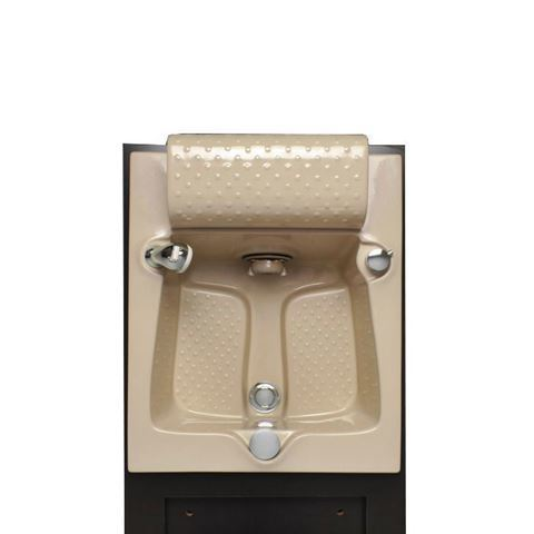 ANS Fiberglass Sink Cappuccino