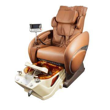 Fiori 800 pedicure spa in diamond bowl and chestnut chair