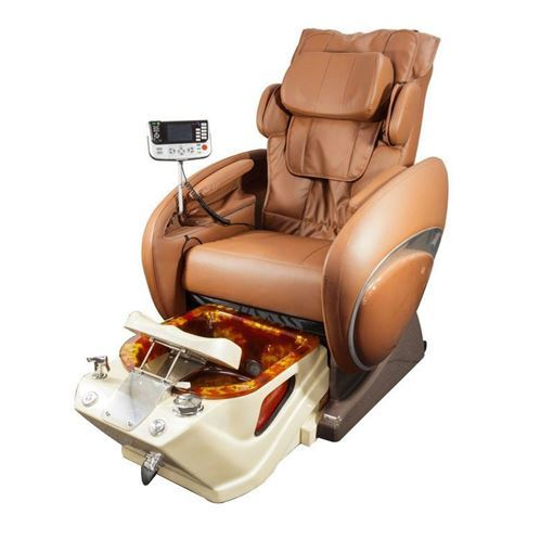 Fiori 800 pedicure spa in diamond bowl and chestnut chair