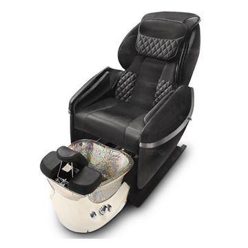 gulfstream super relax pedicure chair in black color