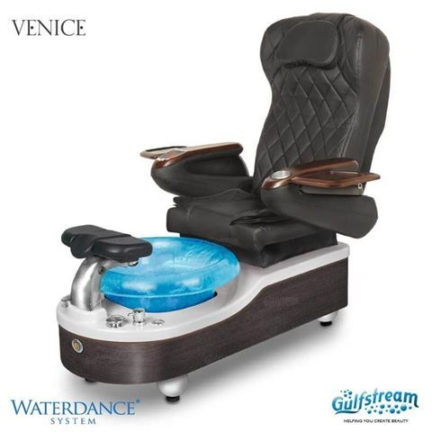 Gulfstream Venice pedicure chair 9660 black