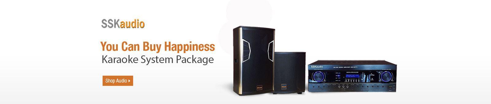 SSKaudio karaoke package system