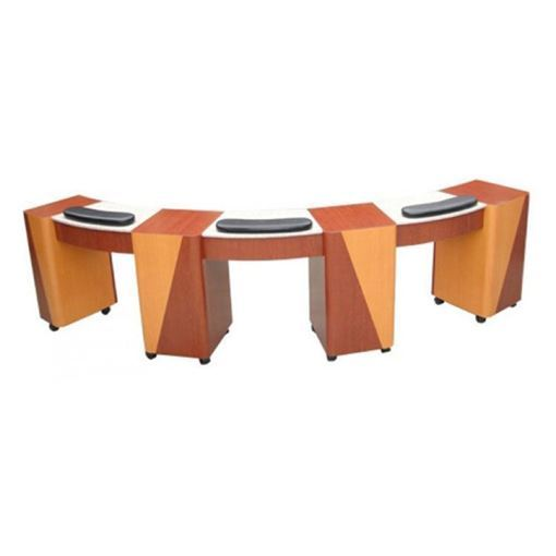 Picture of BSF NT-80RT Triple Manicure Table