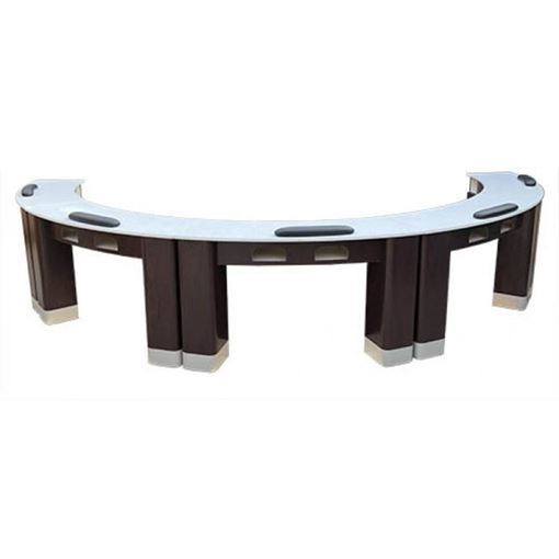Picture of BSF NT-0224 Half Moon Manicure Table