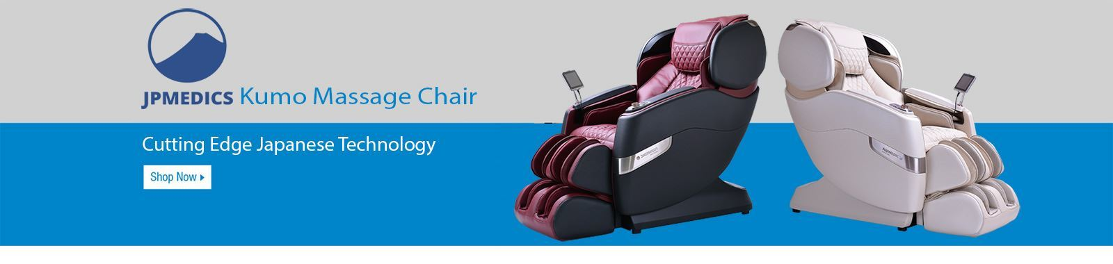 JPMedic Kumo massage chair promotional banner