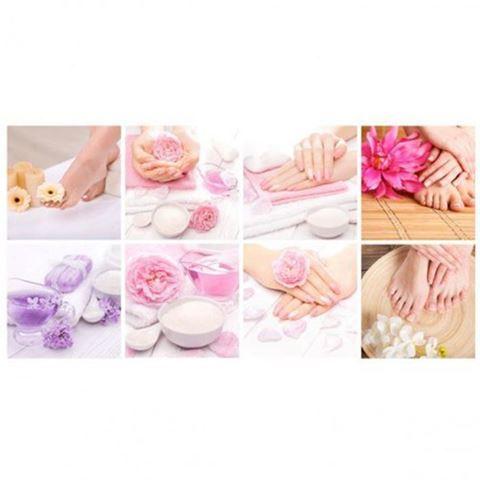 Hình ảnh Bộ Tranh Treo Tường LX16.6-Pink