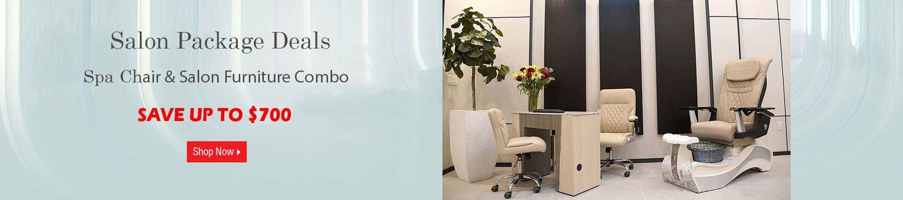 Pedicure Chairs & Salon Furniture Package Deals