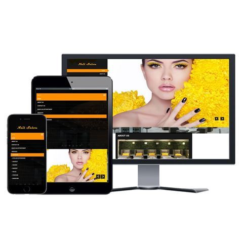 Picture of Nail Salon Website - Design #011