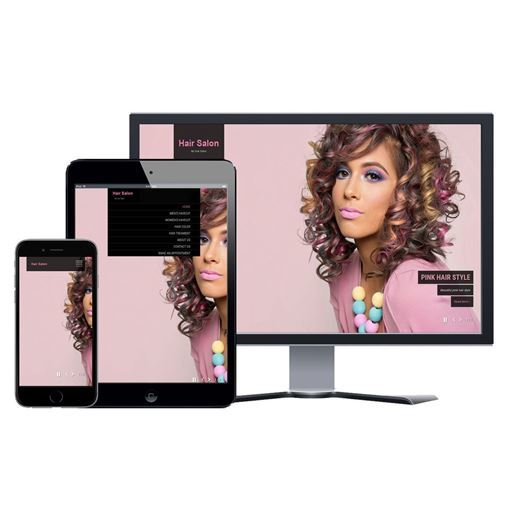 Picture of Hair Salon Website - Design #107