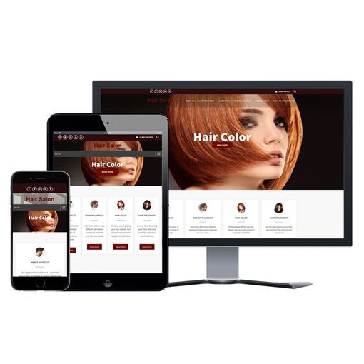 Picture of Hair Salon Website - Design #108