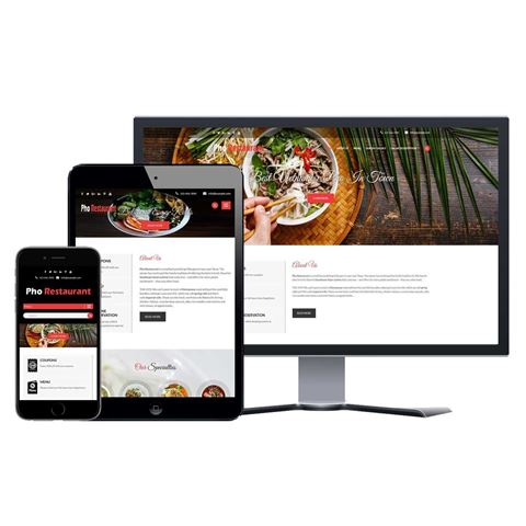 Picture of Restaurant Website - Design #201